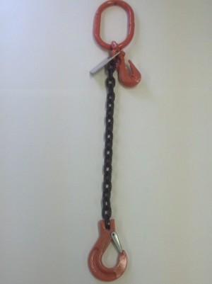 Chain Sling Single Leg Adjustable With Oblong And Slip