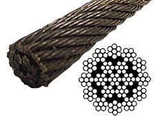 19x19 wire rope